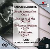 Album artwork for Mendelssohn: Rondo Capriccioso (von Alpenheim)