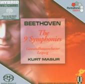 Album artwork for BEETHOVEN - THE 9 SYMPHONIES / Masur