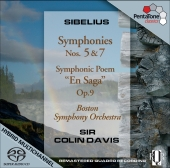 Album artwork for Sibelius: Symphonies 5 & 7, Davis: Boston Symphony