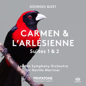 Album artwork for CARMEN  L'ARLESIENNE