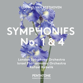 Album artwork for Beethoven: SYMPHONIES NO. 1 & 4 / Kubelik