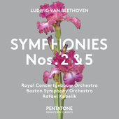 Album artwork for Beethoven: SYMPHONIES NOS. 2 & 5