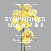 Album artwork for Beethoven: SYMPHONIES NOS. 6, 7 & 8 / Kubelik