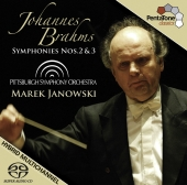 Album artwork for BRAHMS: SYMPHONY NOS. 2 & 3