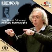 Album artwork for BEETHOVEN: SYMPHONIES NOS. 5 & 8