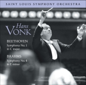 Album artwork for BEETHOVEN: SYMPHONY NO. 1 / BRAHMS: SYMPHONY NO. 4