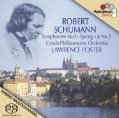 Album artwork for Schumann - Symphonies No. 1 & 2