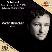 Album artwork for Schubert: Piano Sonata in A, 6 Moments Musicaux