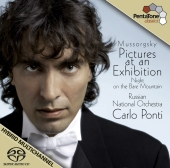 Album artwork for Mussorgsky: Pictures at an Exhibition / Ponti