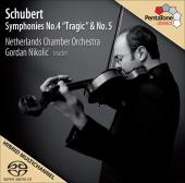 Album artwork for Schubert: Symphonies Nos. 4 & 5 (Nikolic)