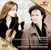 Album artwork for Schubert: Violin and Piano vol.2 / Fischer