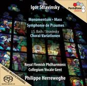 Album artwork for Stravinsky: Momentum, Mass, Symphony of Psalms