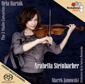 Album artwork for Bartok: The 2 Violin Concertos / Steinbacher