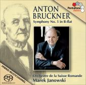 Album artwork for Bruckner: Symphony no.5 / Janowski