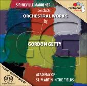 Album artwork for Getty: Orchestral works / Marriner