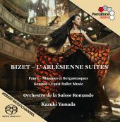 Album artwork for Bizet: L'Arlesienne Suites, Faure, Gounod