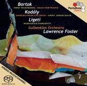 Album artwork for Orchestral works by Kodaly, Bartok, and Ligeti