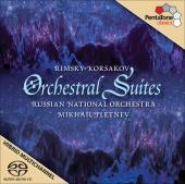 Album artwork for Rimsky-Korsakov: Orchestral Suites / Pletnev