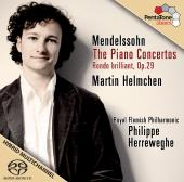 Album artwork for MENDELSSOHN: PIANO CONCERTOS