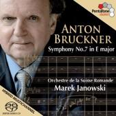 Album artwork for Bruckner: Symphony No. 7 / Janowski