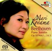 Album artwork for Beethoven: Piano Sonatas, Op. 10 / Kodama