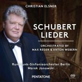 Album artwork for Schubert: Lieder (Orch. by Max Reger & Anton Weber