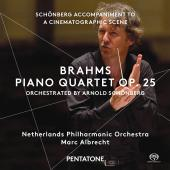 Album artwork for BRAHMS: PIANO QUARTET OP. 25 (ORCH. SCHOENBERG)