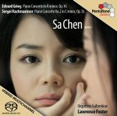 Album artwork for Grieg: Piano Concerto, Rachmaninov: Concerto 2