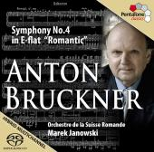 Album artwork for Bruckner: Symphony 4 / Janowski