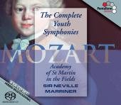 Album artwork for Mozart: Complete Youth Symphonies / Marriner