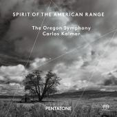 Album artwork for The Oregon Symphony: Spirit of the American Range