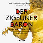 Album artwork for Strauss II: Der Zigeunerbaron (Live)