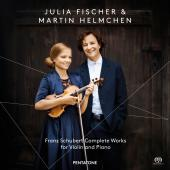 Album artwork for Schubert: Complete works for Violin & Piano / Fisc
