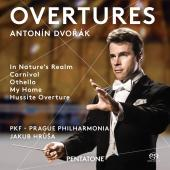 Album artwork for Dvorák: Overtures / Hrusa, Prague Philharmonia