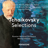 Album artwork for Tchaikovsky Selections / Pletnev