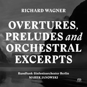 Album artwork for Wagner: Overtures, Preludes & Orchestral Excerpts