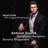 Album artwork for Dvorák: Symphonic Variations & Slavonic Rhapsodie