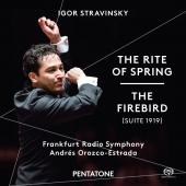 Album artwork for Stravinsky: The Rite of Spring & The Firebird