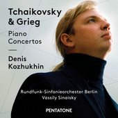 Album artwork for Tchaikovsky & Grieg: Piano Concertos