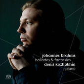 Album artwork for Brahms: Ballades & Fantasies