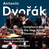 Album artwork for Dvorak: Symphony No. 9 / Orozco-Estrada