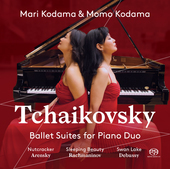 Album artwork for Tchaikovsky: Ballet Suites for Piano Duo