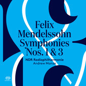 Album artwork for Mendelssohn: Symphonies No. 1 & 3