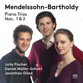 Album artwork for Mendelssohn: Piano Trios Nos. 1 & 2