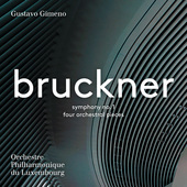 Album artwork for Bruckner: Symphony No. 1 & 4 Orchestral Pieces