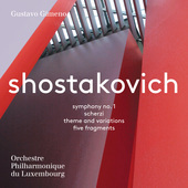 Album artwork for Shostakovich: Symphony No. 1, Scherzi, Theme and V