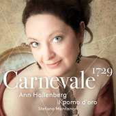 Album artwork for Carnevale 1729 / Hallenberg