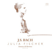 Album artwork for SONATAS & PARTITAS SOLO VIOLIN / Fischer