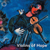 Album artwork for VIOLINS OF HOPE