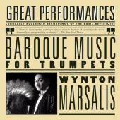 Album artwork for BAROQUE MUSIC FOR TRUMPETS / Marsalis